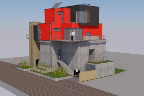 Bunker-Wohnhaus